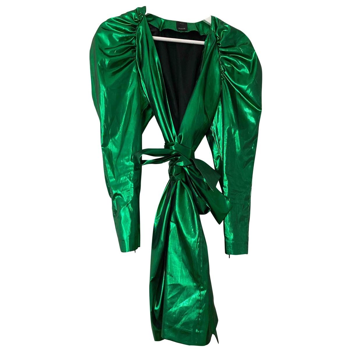 Pinko \N Kleid in  Gruen Polyester