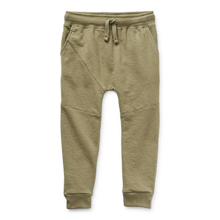 Okie Dokie Toddler Boys Cuffed Jogger Pant, 5t , Green