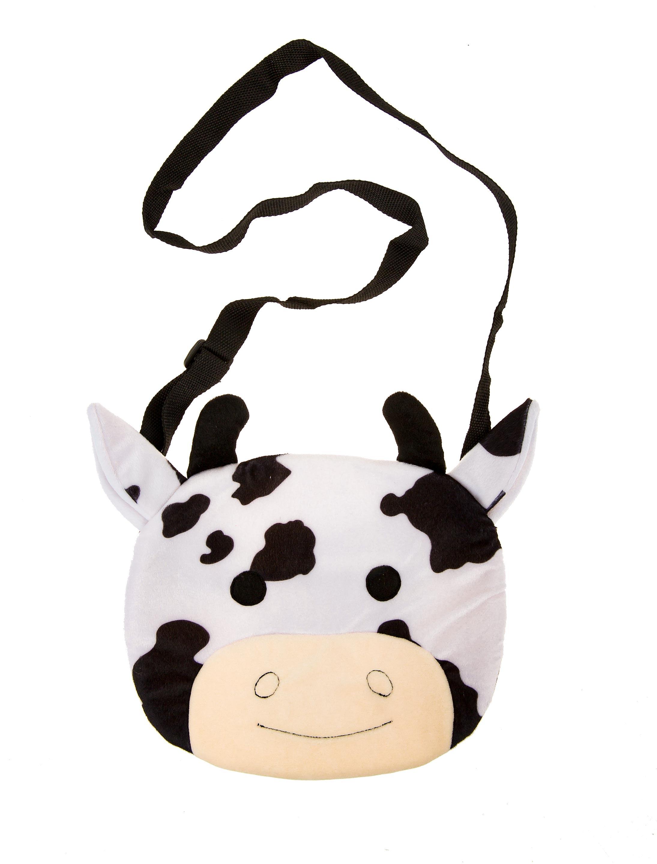 Kostuemzubehor Tasche Kuh Farbe: schwarz/weiss