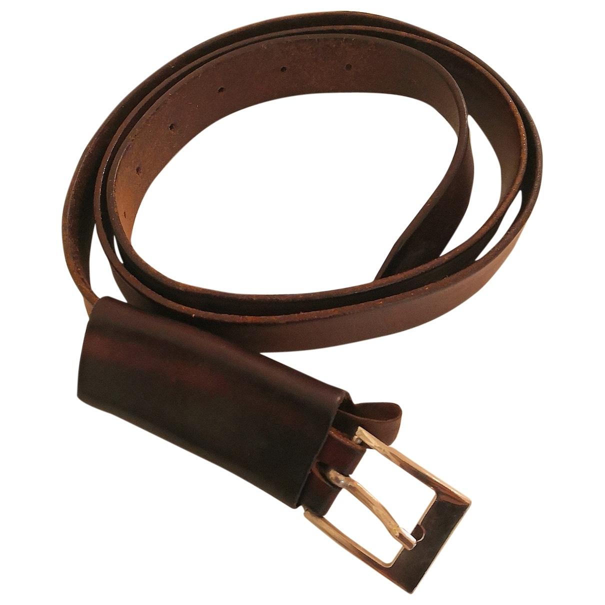 Cinturon de Cuero Maison Martin Margiela
