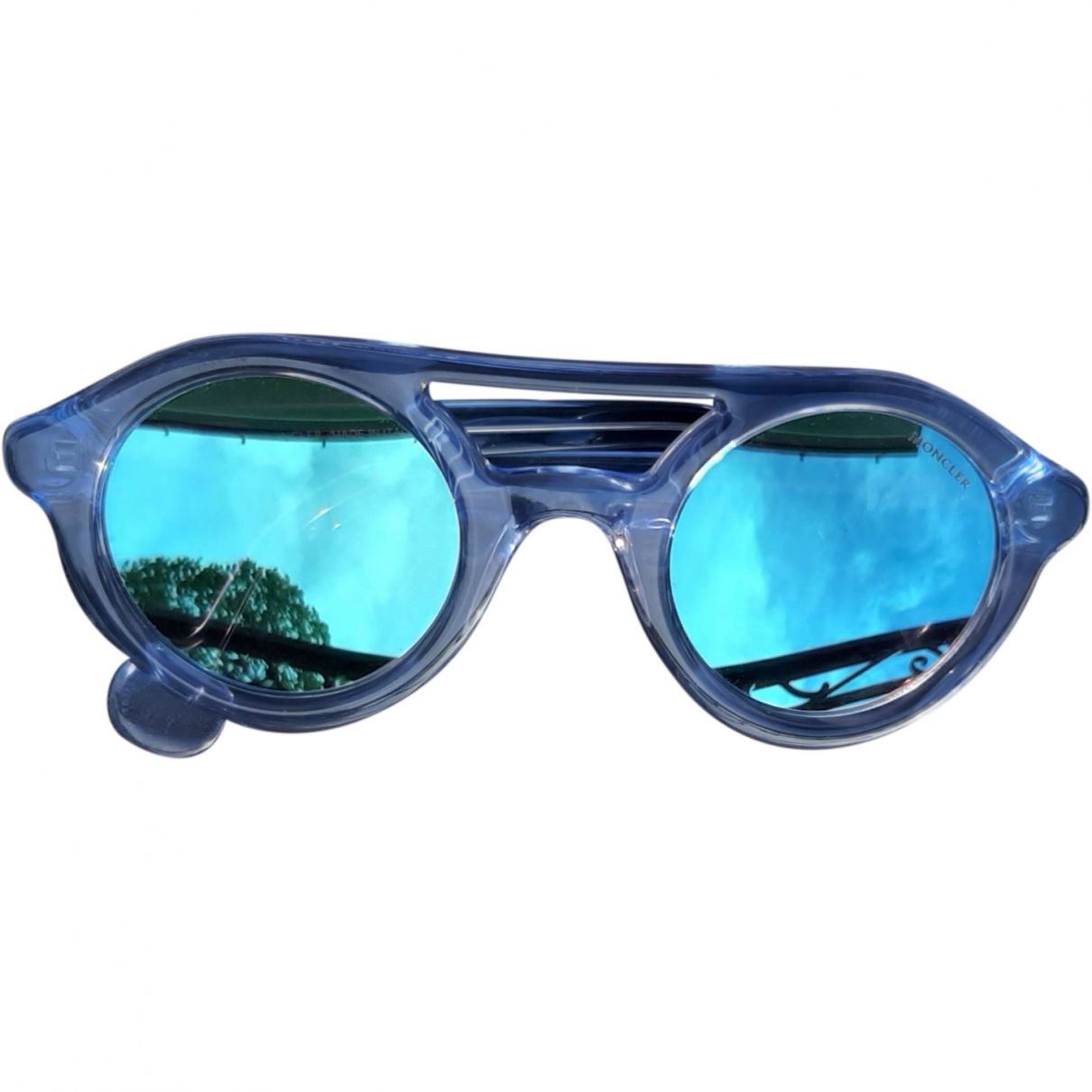 Moncler \N Blue Sunglasses for Women \N