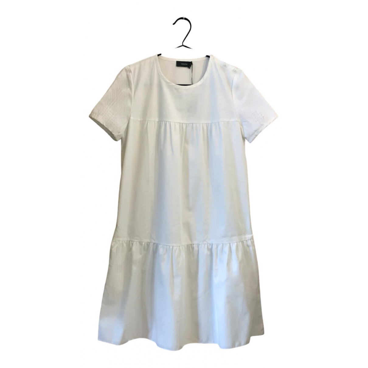 Joseph \N Kleid in  Weiss Baumwolle