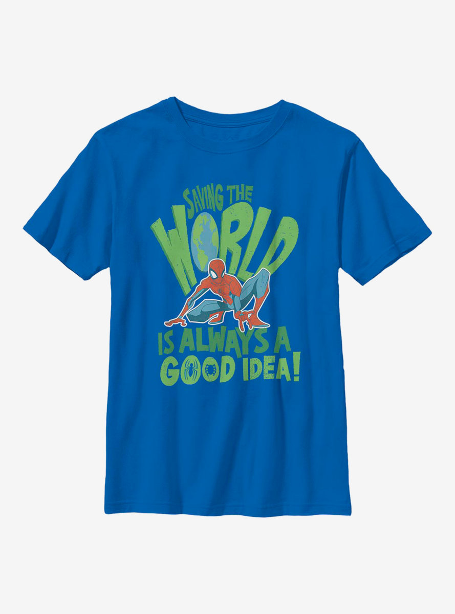 Marvel Spider-Man Spider World Youth T-Shirt