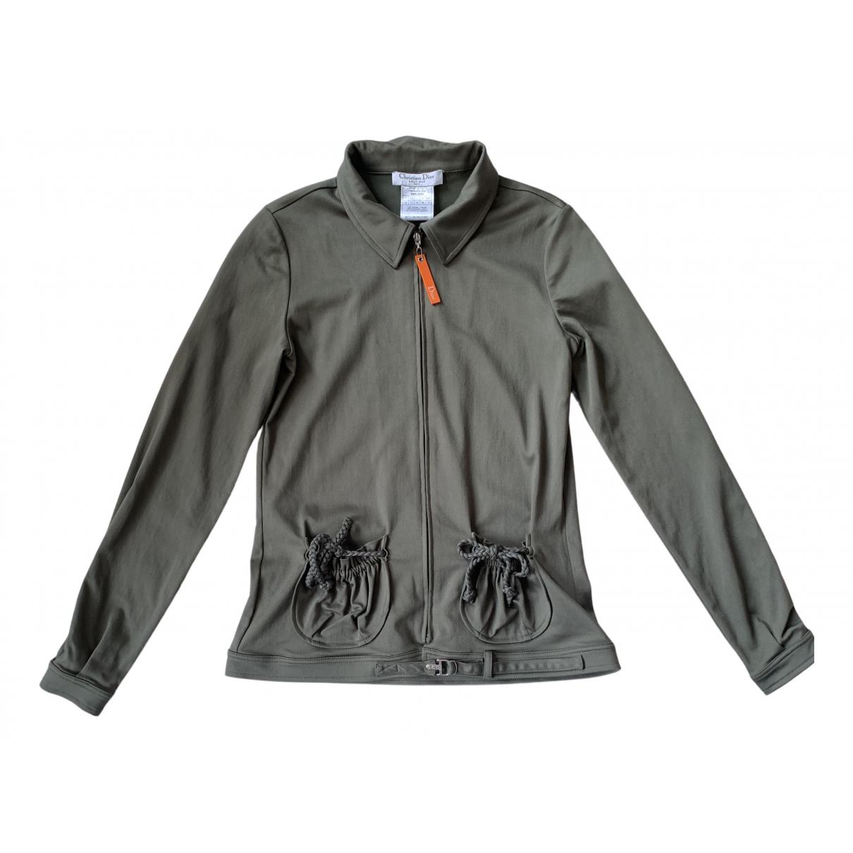 Dior N Khaki jacket for Women 12 UK