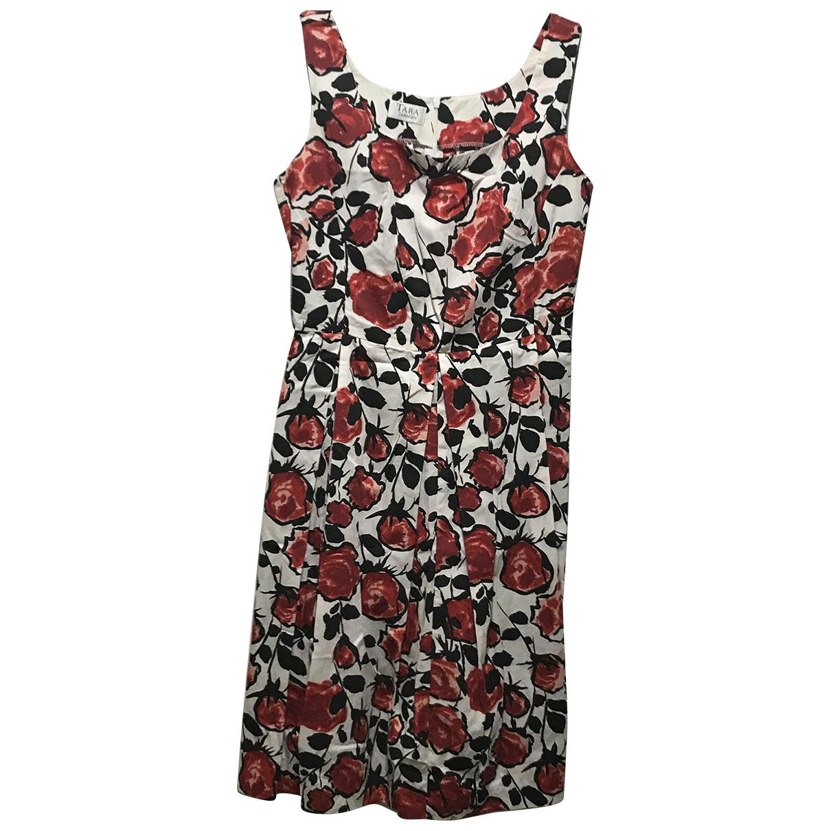 Tara Jarmon \N Kleid in  Rot Baumwolle