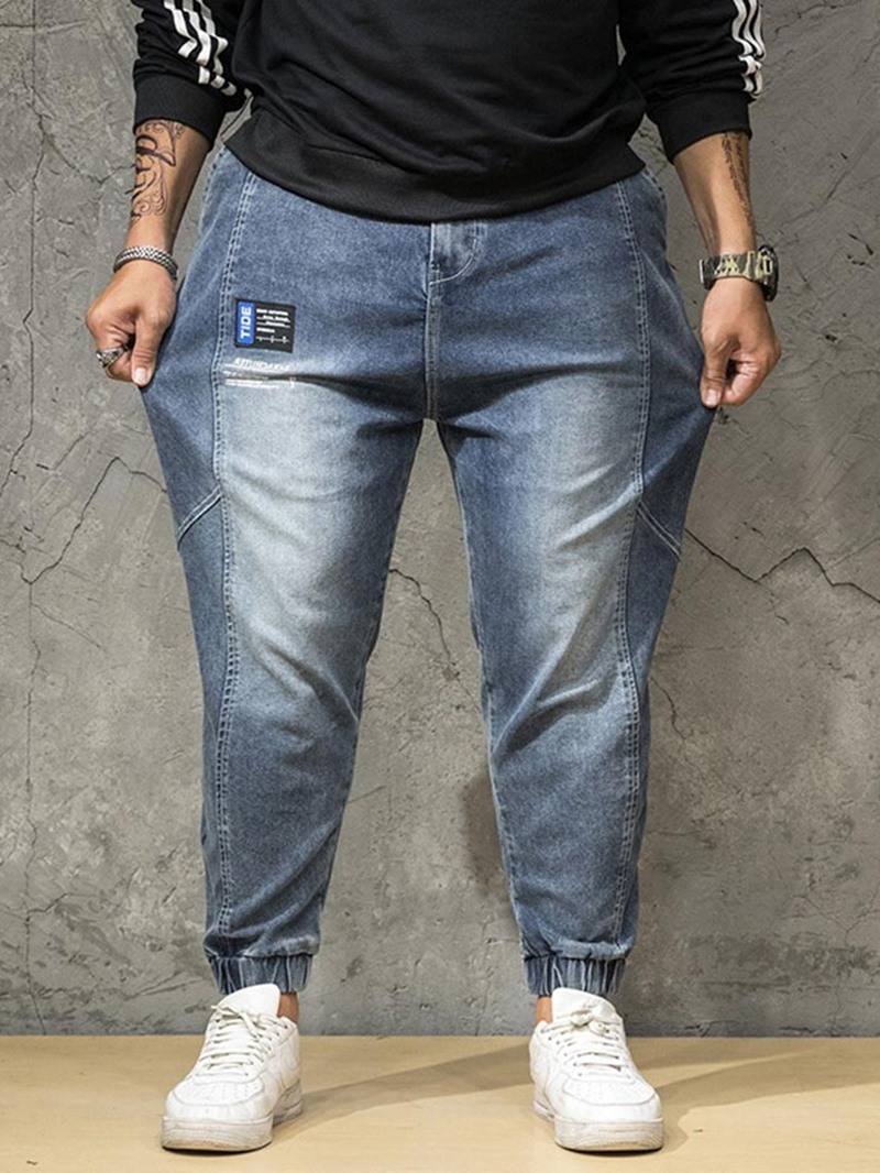 Ericdress Pocket Japanese Zipper Men's Jeans