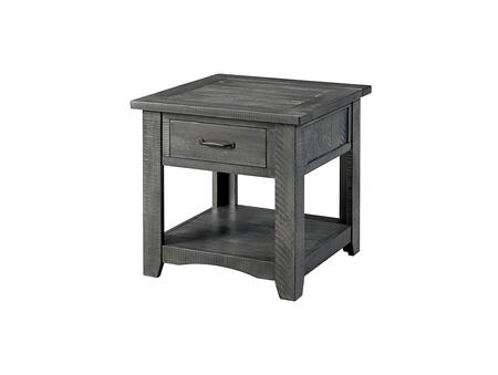 BM178139 Wooden End Table With 1 Drawer & 1 Shelf