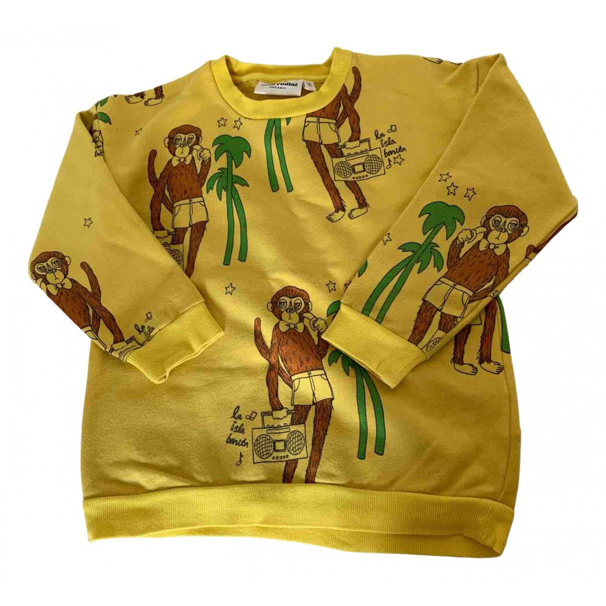Mini Rodini - Top   pour enfant en coton - jaune