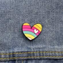 Heart Design Brooch