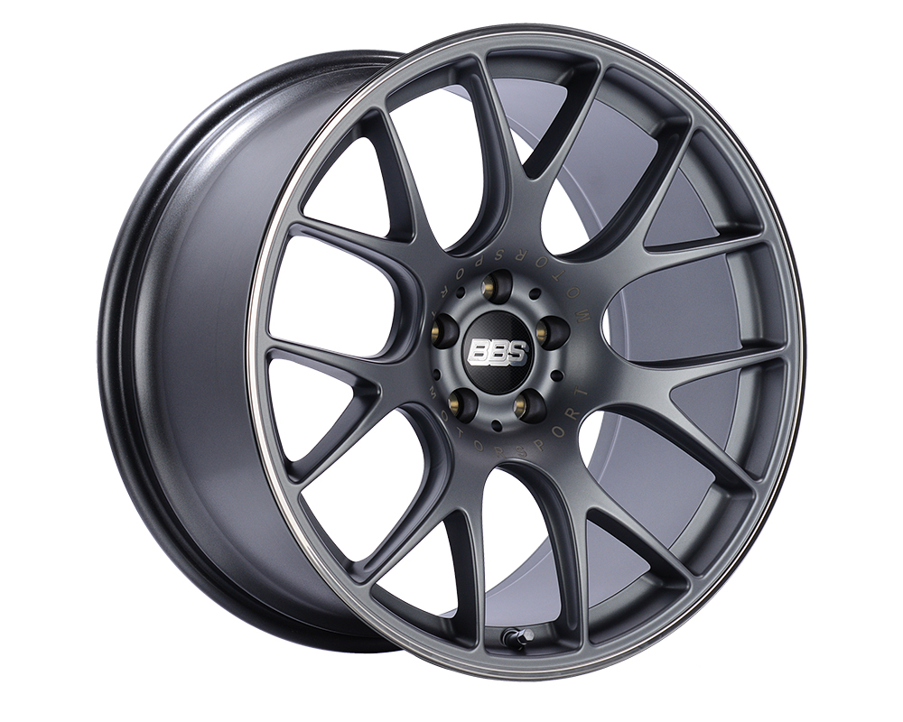 BBS CH-R Wheel 20x11.5 5x130 65mm Titanium | Polished Rim
