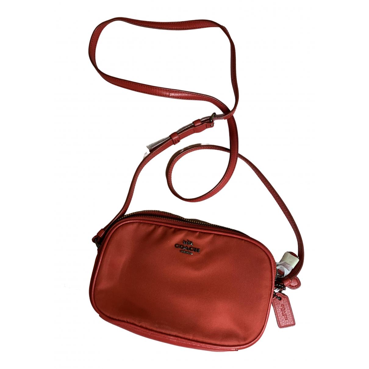 Coach N Red handbag for Women N