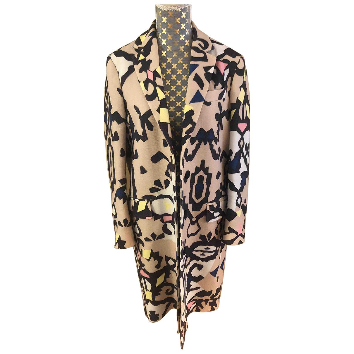 Msgm - Manteau   pour femme en laine
