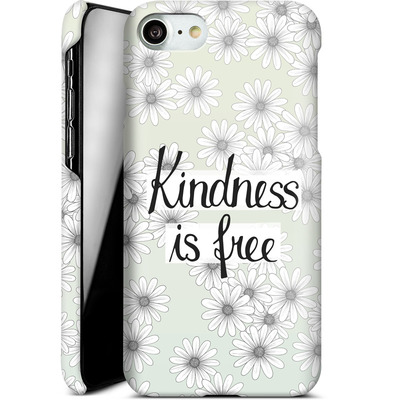 Apple iPhone 8 Smartphone Huelle - Kindness is Free von Barlena