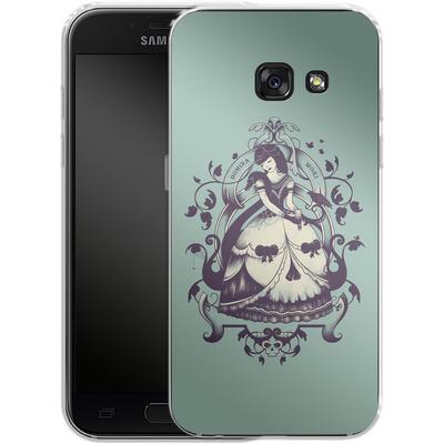 Samsung Galaxy A3 (2017) Silikon Handyhuelle - Mrs Death von Enkel Dika