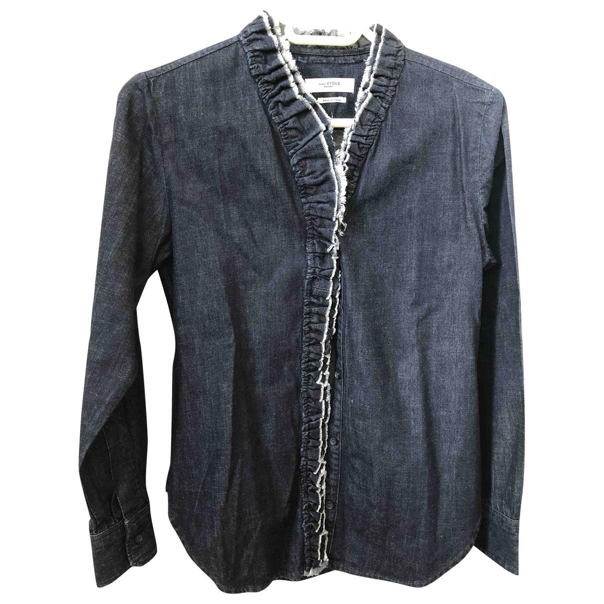 Isabel Marant Etoile \N Blue Cotton  top for Women 34 FR