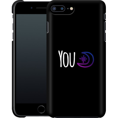 Apple iPhone 7 Plus Smartphone Huelle - You Moon von caseable Designs