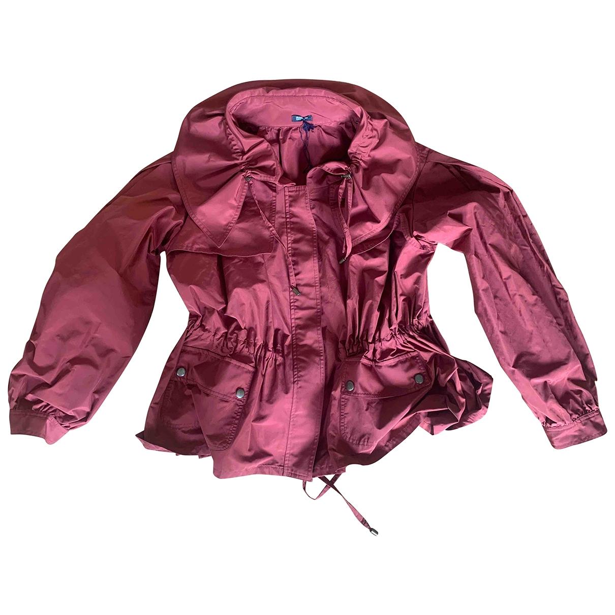 Jil Sander \N Jacke in  Rot Polyester