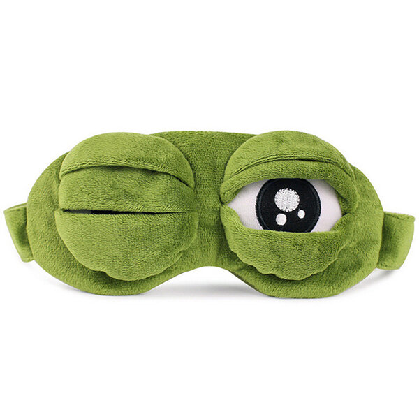 SadFrog Sleep Eye Goggles Protection Cover Sleeping Mask Cartoon Ice Eyeshade Replaceable Core