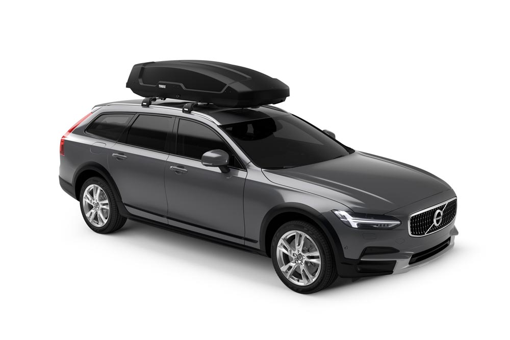 Thule 635801 Force XT XL Roof-Mounted Cargo Box - Black