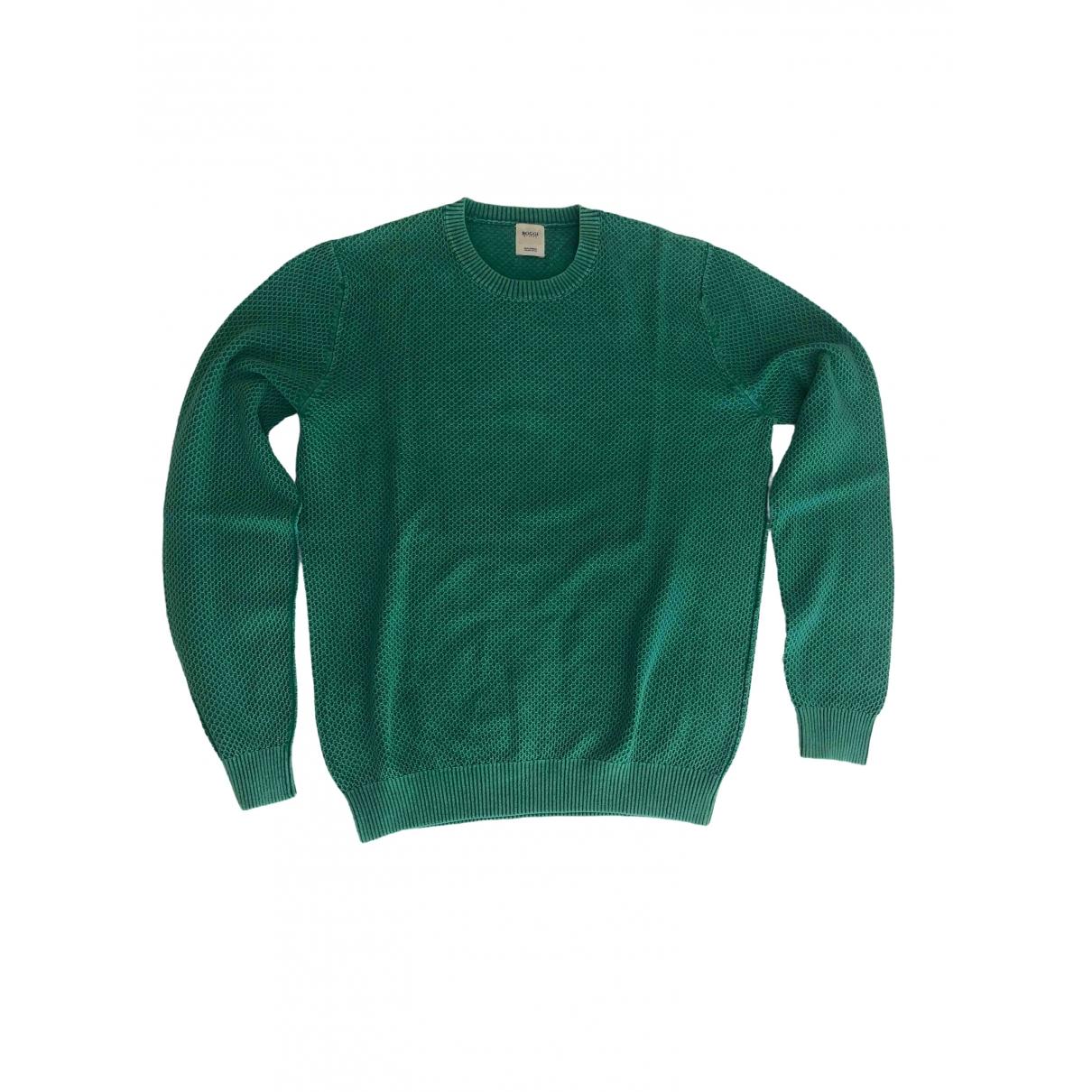 Boggi \N Grey Cotton Knitwear & Sweatshirts for Men M International