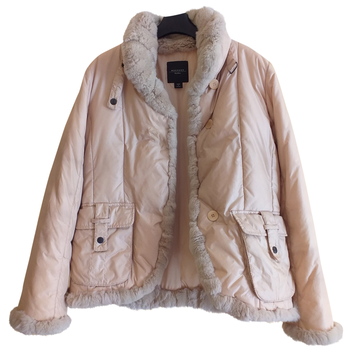 Max Mara Weekend \N Beige coat for Women 4 US