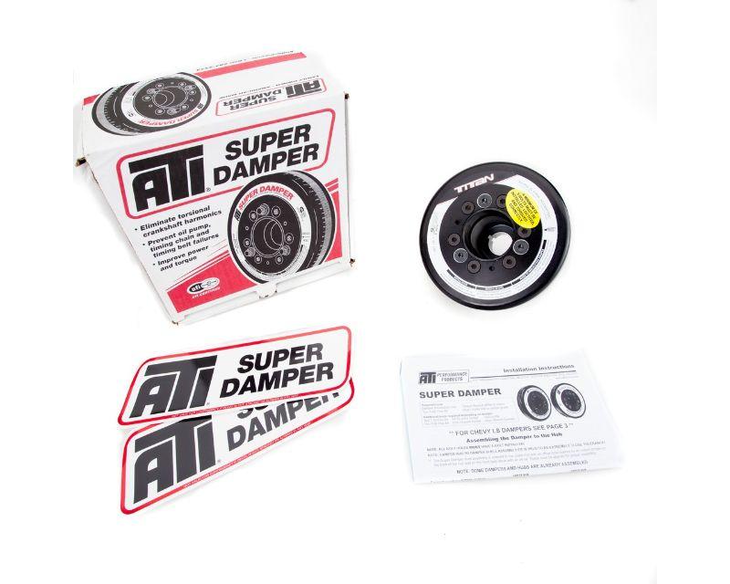 Titan Motorsports TMS GTR-ENG-PUL Dampened Crank Pulley Nissan GTR-R35 | VR38