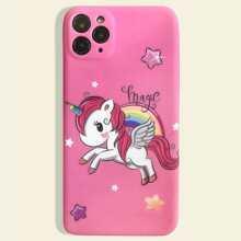 Funda de iphone con unicornio