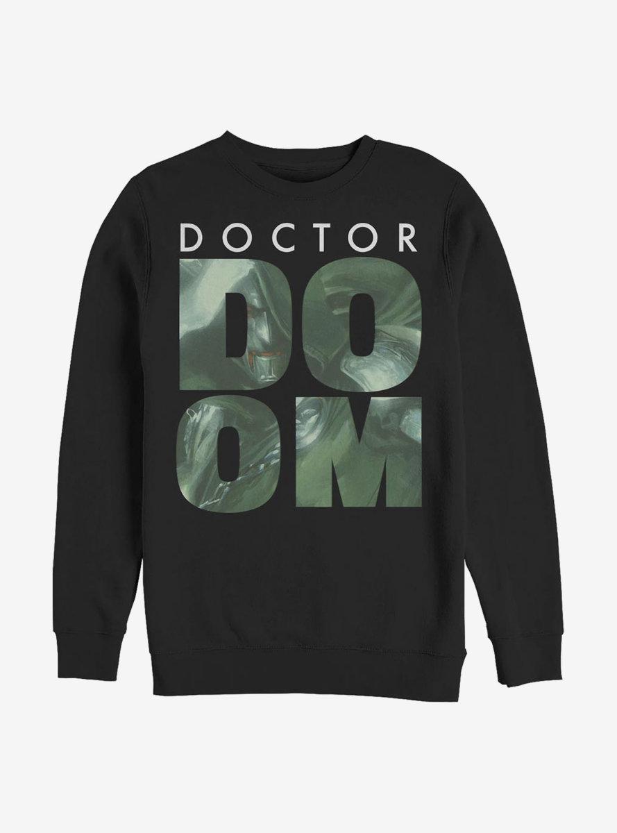 Marvel Fantastic Four Doom Fill Sweatshirt