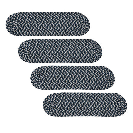 Colonial Mills Boston Common Braided Oval Reversible Indoor Stair Treads, One Size , Multiple Colors