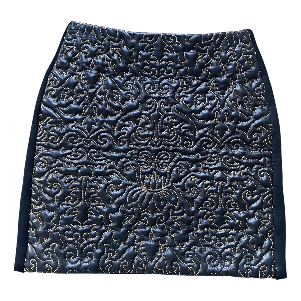 Josh Goot N Black Leather skirt for Women 36 FR