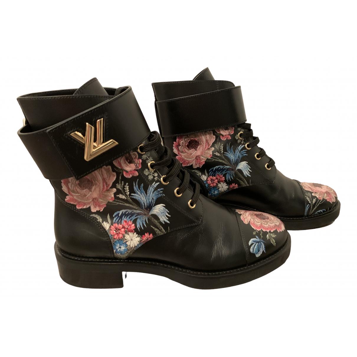 Botas con cordones Wonderland de Cuero Louis Vuitton