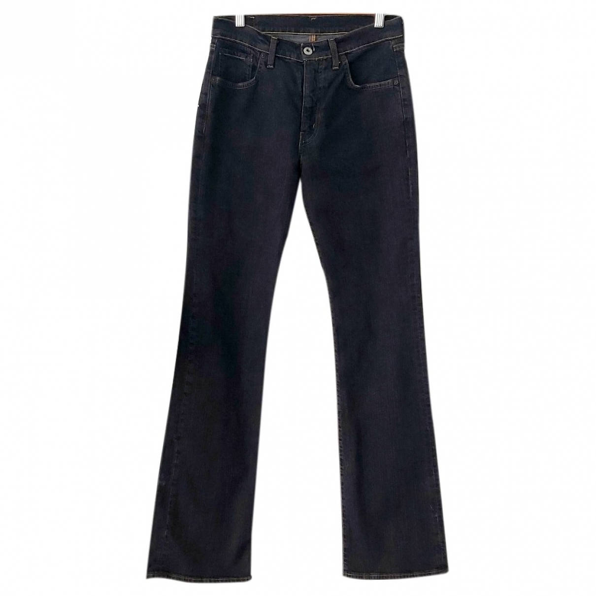 Non Signé / Unsigned \N Anthracite Denim - Jeans Jeans for Women 31 US