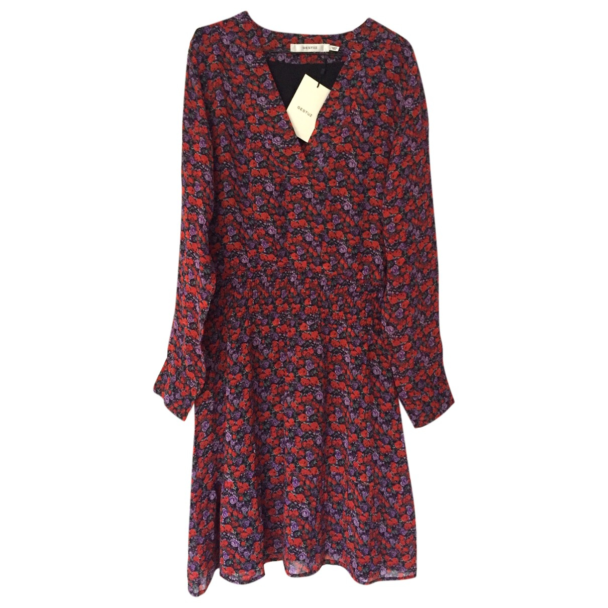 Gestuz - Robe   pour femme - rouge