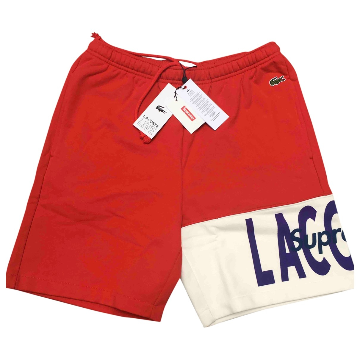Lacoste X Supreme \N Red Shorts for Men S International