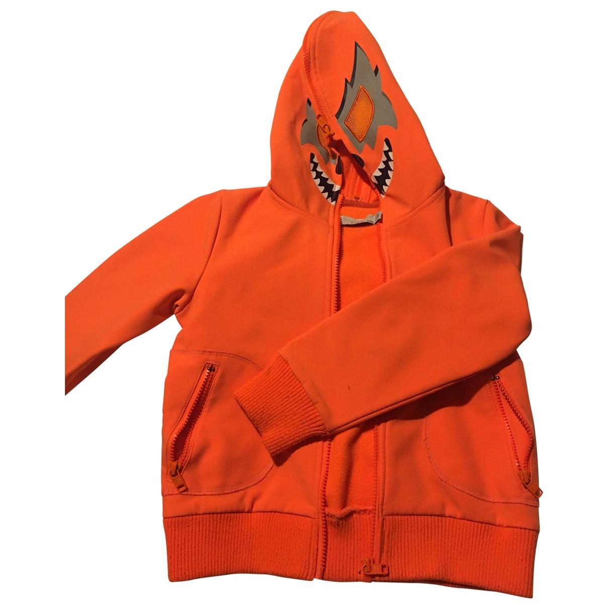 Stella Mccartney Kids - Blousons.Manteaux   pour enfant - orange