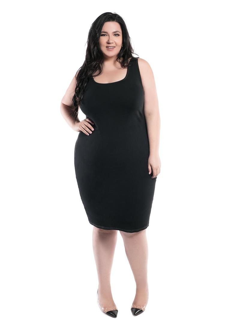 Ericdress Sleeveless Mid-Calf Bodycon Pullover Dress