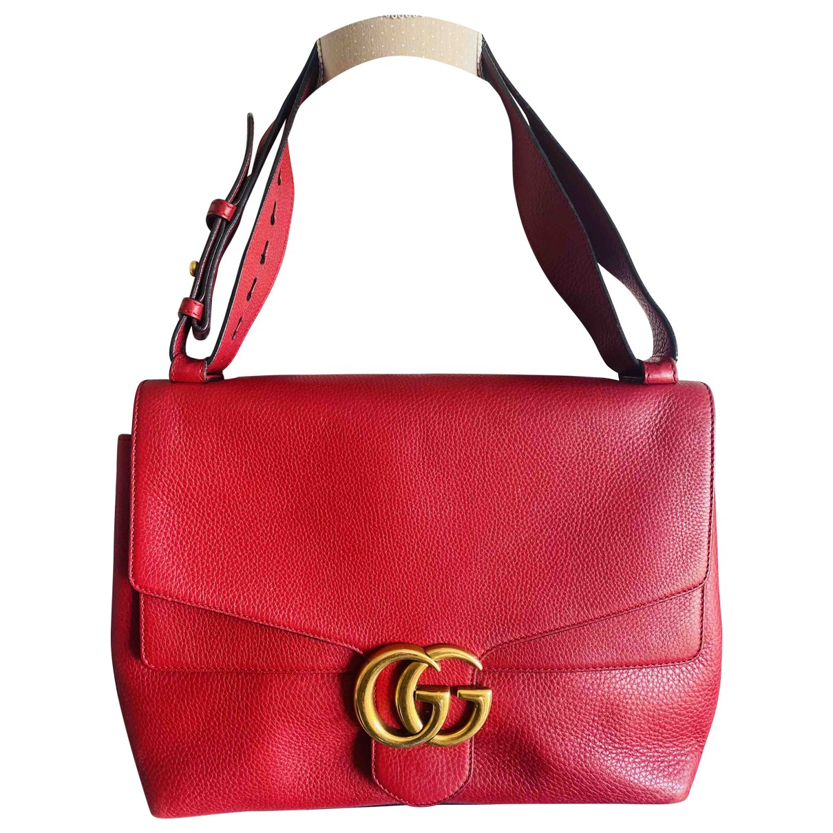 Gucci GG Running Red Leather handbag for Women \N