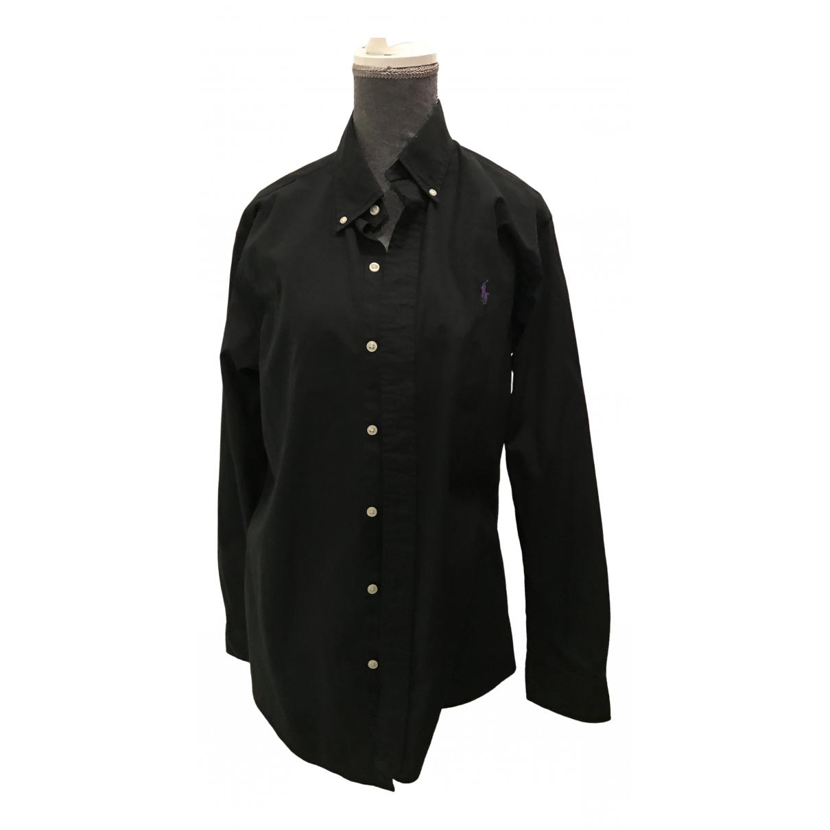 Ralph Lauren - Chemises   pour homme en coton - noir