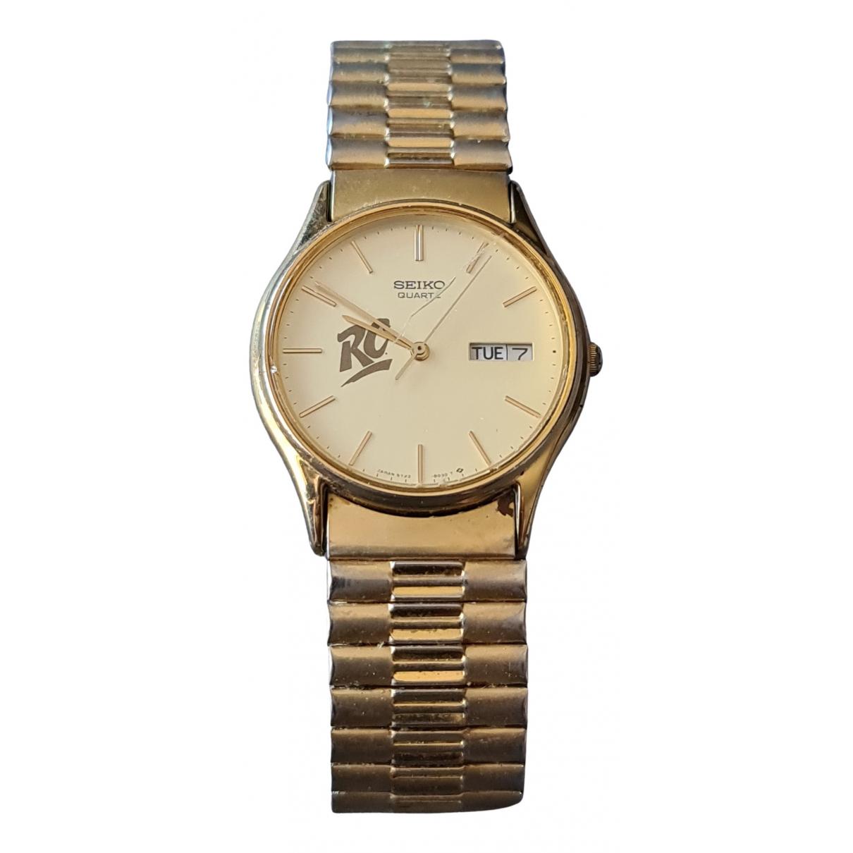 Seiko \N Uhr in  Gold Vergoldet