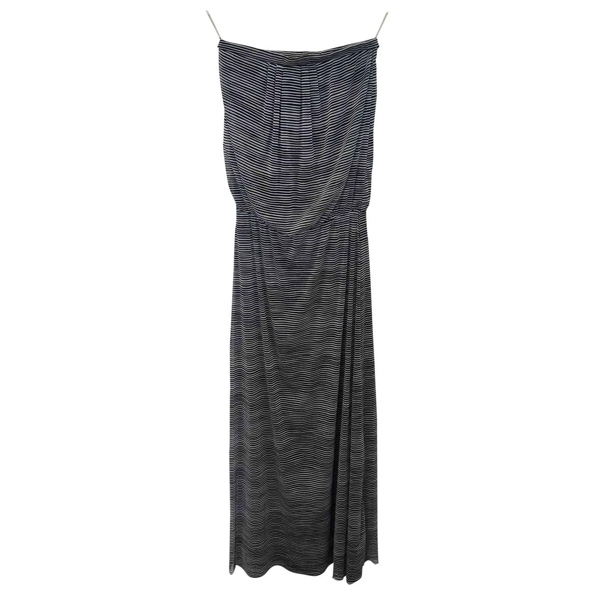 Cynthia Rowley \N Kleid in  Schwarz Synthetik