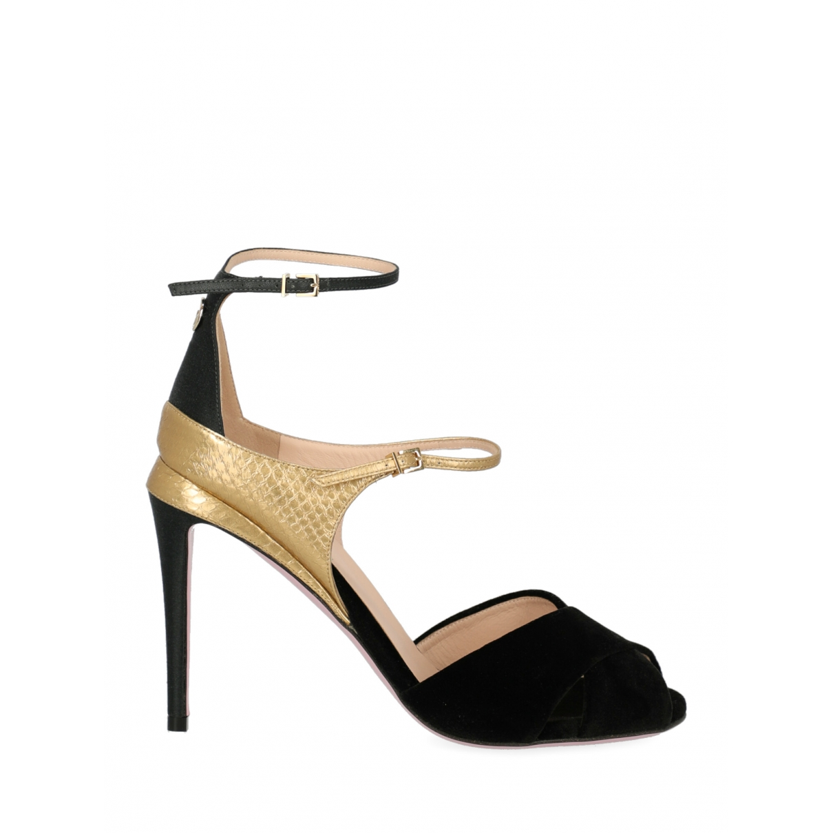 Fendi \N Black Suede Sandals for Women 39 IT