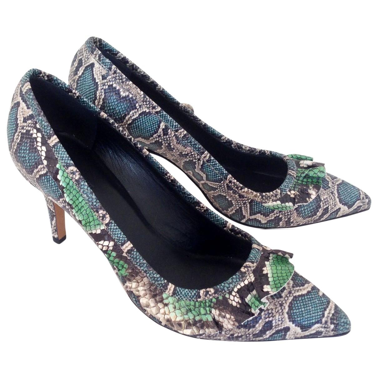 Isabel Marant \N Multicolour Leather Heels for Women 40 EU