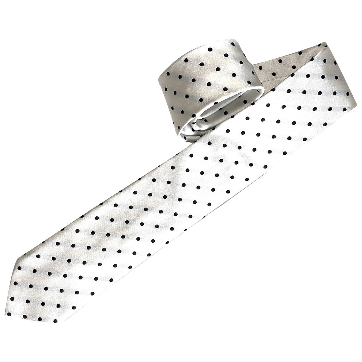 Dolce & Gabbana - Cravates   pour homme en soie - blanc