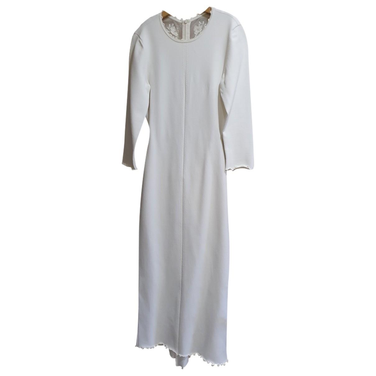 Ulyana Sergeenko - Robe   pour femme - blanc