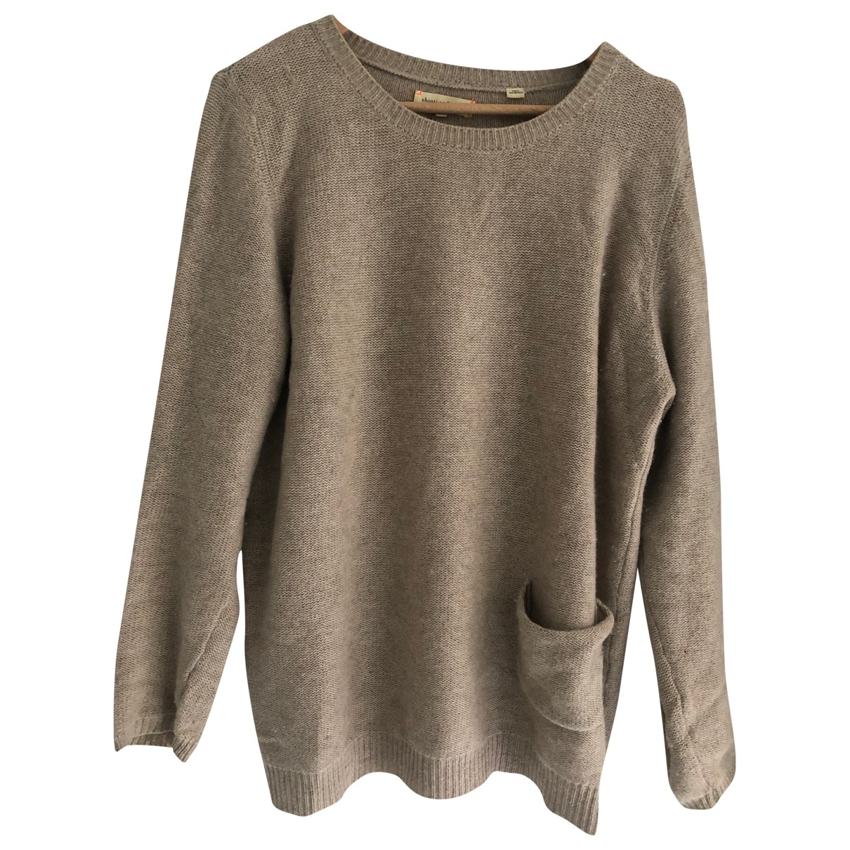 Chinti & Parker \N Ecru Cashmere Knitwear for Women S International