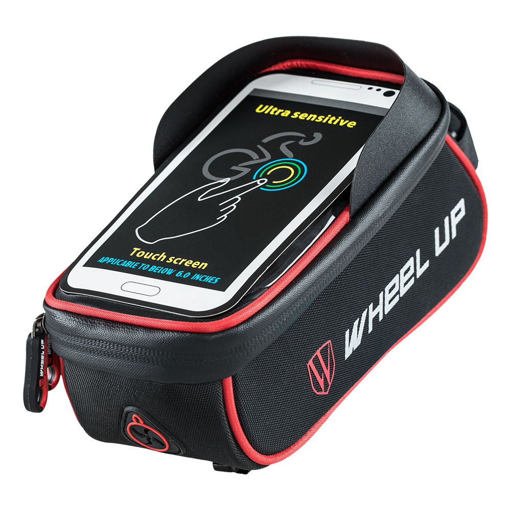 PVC Rectangle Reflective Design Waterproof Zipper Top Tube Bag