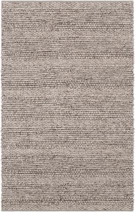 Tahoe TAH-3706 5 x 8 Rectangle Modern Rugs in Light Gray  Charcoal