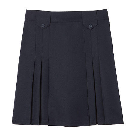 French Toast Little & Big Girls Pleated Skirt, 4 , Blue