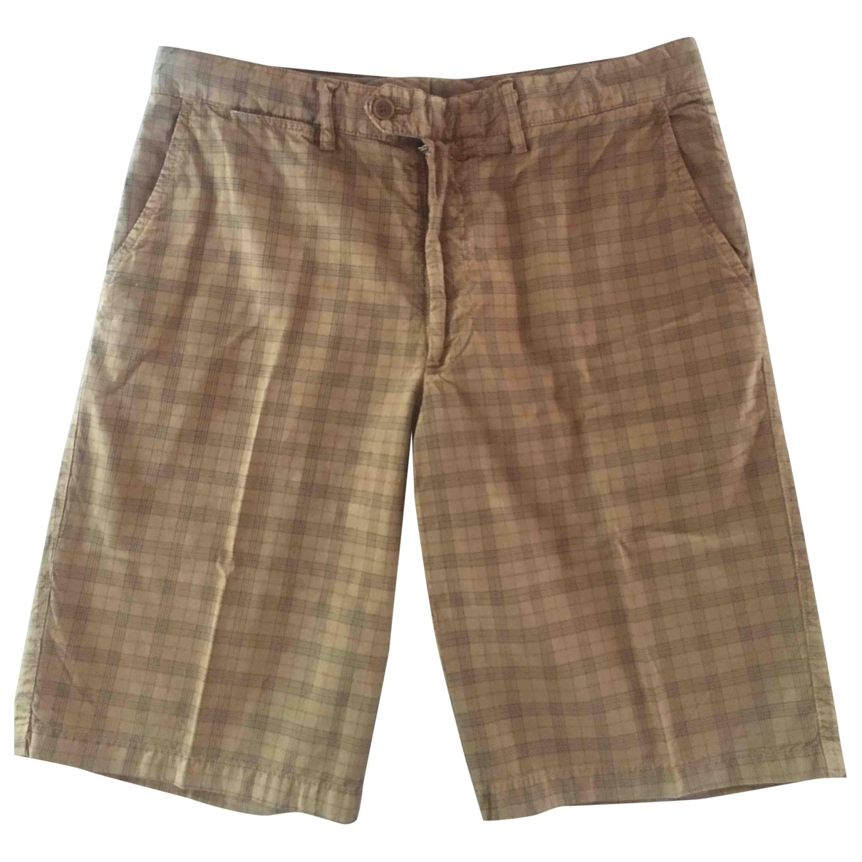 Brooksfield \N Shorts in  Kamel Baumwolle