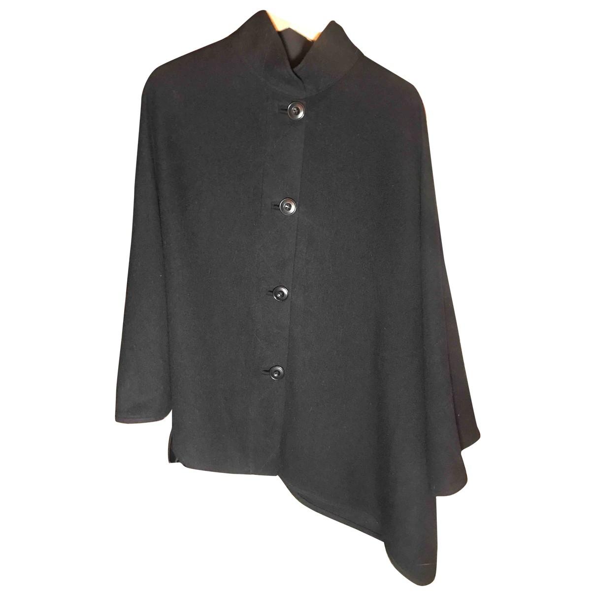 Lemaire X Uniqlo \N Jacke in  Schwarz Wolle